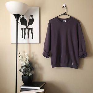 Vintage Russell Athletics purple sweatshirt